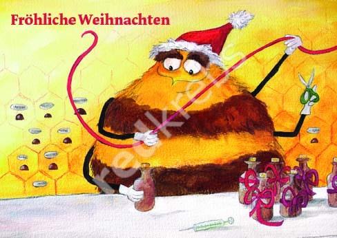 Ein Text für eine Weihnachtskarte