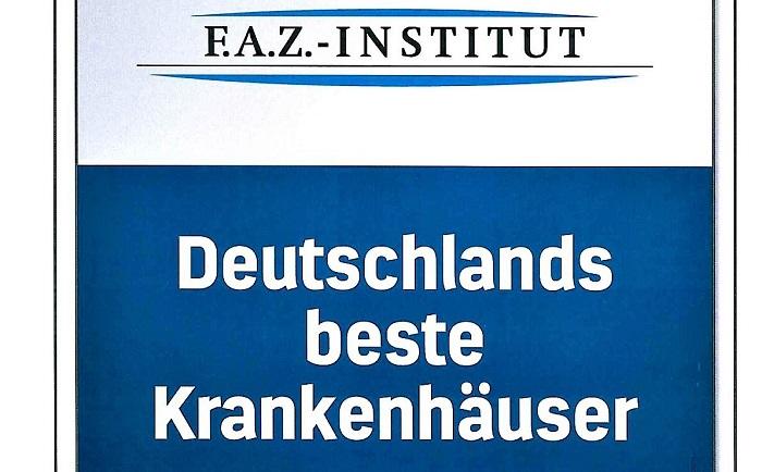 """Asklepios Orthopädische Klinik Lindenlohe eines von """"Deutschlands besten Krankenhäusern"""""""