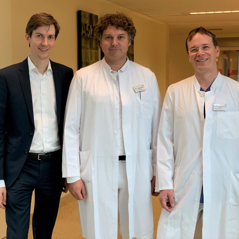 Dr. Josef Zäch ist neuer Ärztlicher Direktor der Asklepios Klinik im Städtedreieck