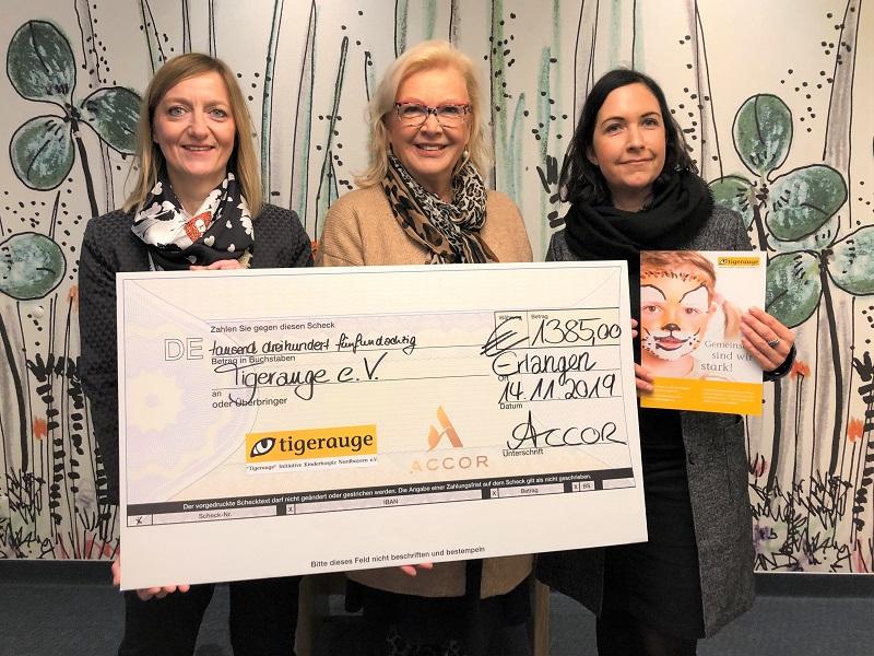 Eine 1.385 Euro-Spende für schwerstkranke Kinder und Jugendliche