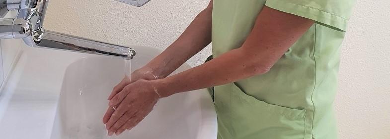 In Corona-Zeiten: Händedesinfektion und richtiges Händewaschen wichtiger denn je