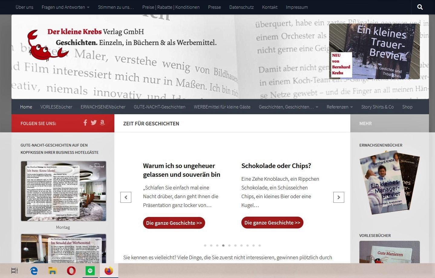 """Neu: """"Ein kleines Trauerbrevier"""" von Bernhard Krebs"""
