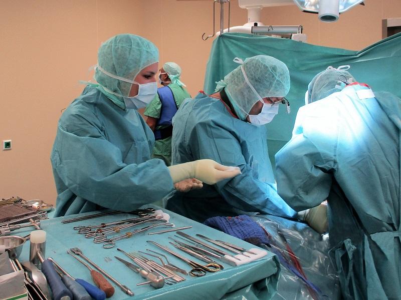 Blindes Verständnis im Operationssaal