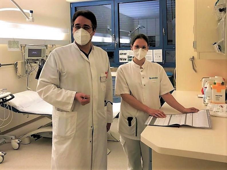 Asklepios Klinik Oberviechtach: Stefanie Dörig auf dem Weg zur Physician Assistant