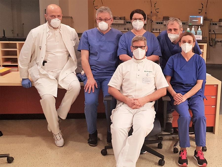 Das Impf-Team an der Asklepios Orthopädischen Klinik Lindenlohe.
