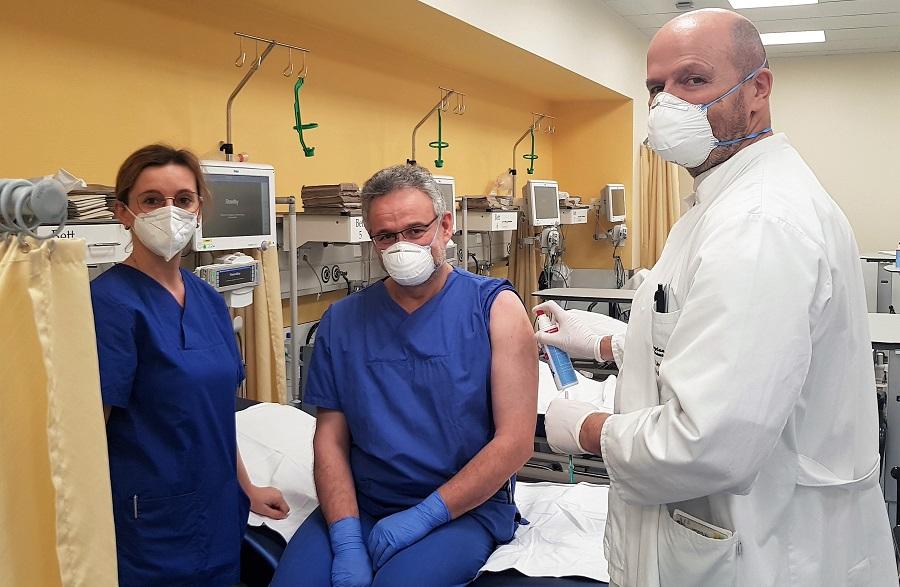 COVID-19 Impfung an der Asklepios Orthopädischen Klinik Lindenlohe
