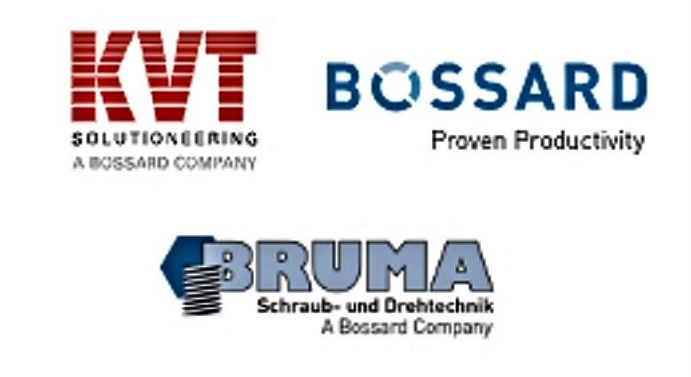 Positive Zwischenbilanz: Zwei Jahre KVT-Fastening/Bossard Deutschland und BRUMA