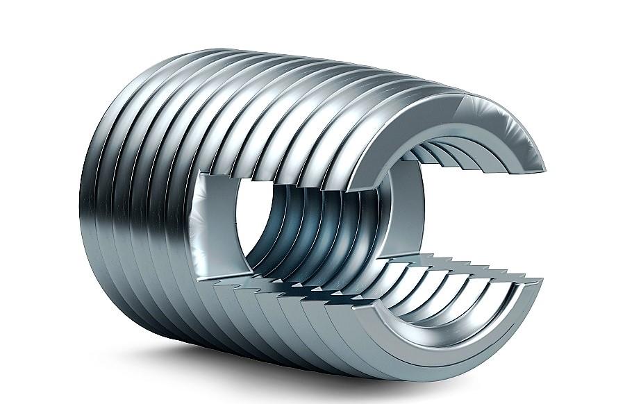 Perfekt für Leichtmetalle: Fasteks® Gewindeeinsätze geben Sicherheit