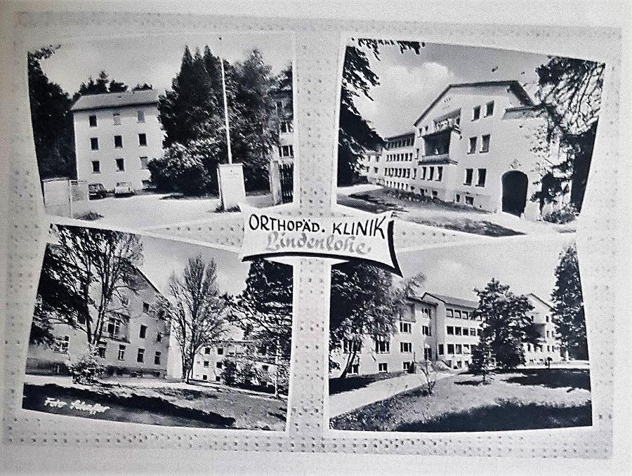 Ein Blick in die Geschichte : Asklepios Orthopädische Klinik Lindenlohe feiert 70. Geburtstag
