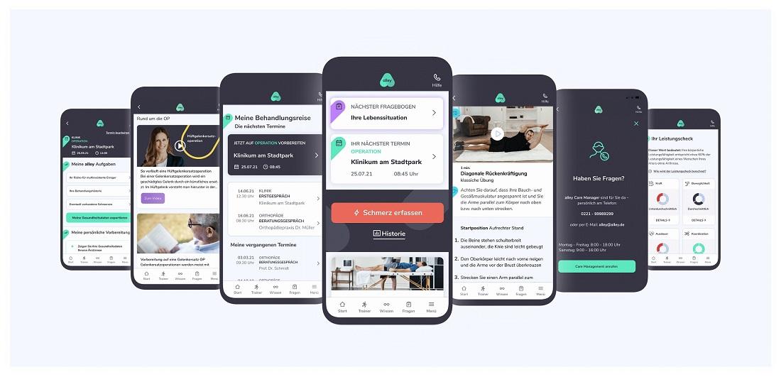 Pilotprojekt: Medizinische Plattform alley bündelt Daten und verbessert Kommunikation