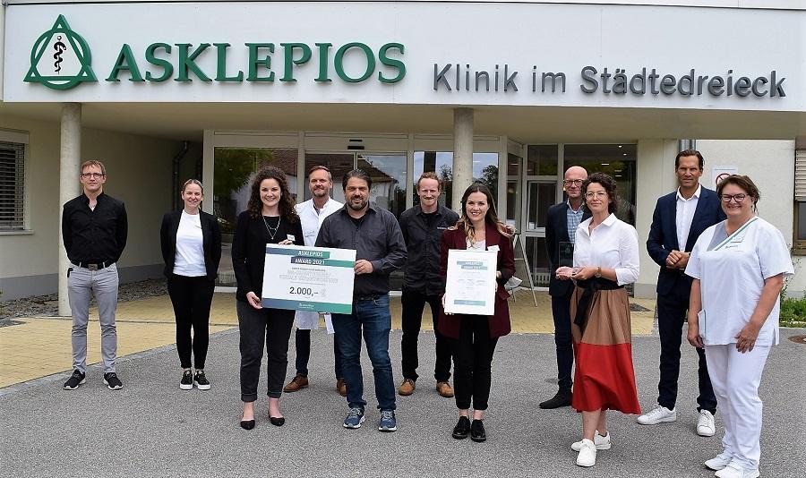 """Der """"Asklepios Award"""" für das Burglengenfelder Krankenhaus"""